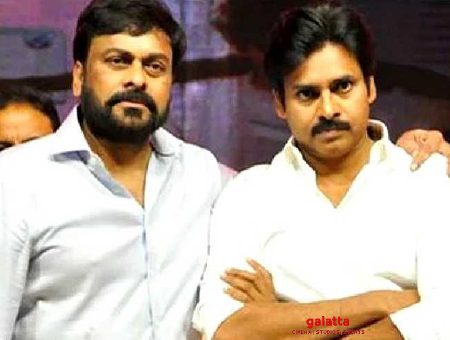 Chiranjeevi and Pawan Kalyan have a Mega reunion for Sye Raa Narasimha Reddy!