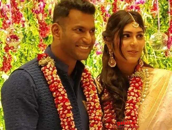 Vishal and Anisha headed for a split-up?