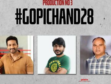 Gopichand and director Sampath Nandi coming together for the actor's next!
