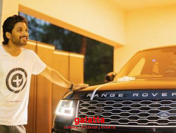 Allu Arjun introduces the world to his new toy 'Beast'!