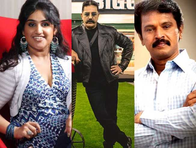Bigg Boss 3 Tamil Full Contestants List including Abhirami Dir Cheran - Tamil Movie Cinema News