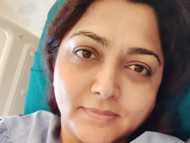 Khushbu Sundar admitted in hospital - 2019 Election Result Day