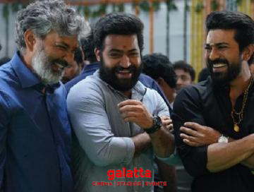 SS Rajamouli and RRR team revisiting Baahubali location!
