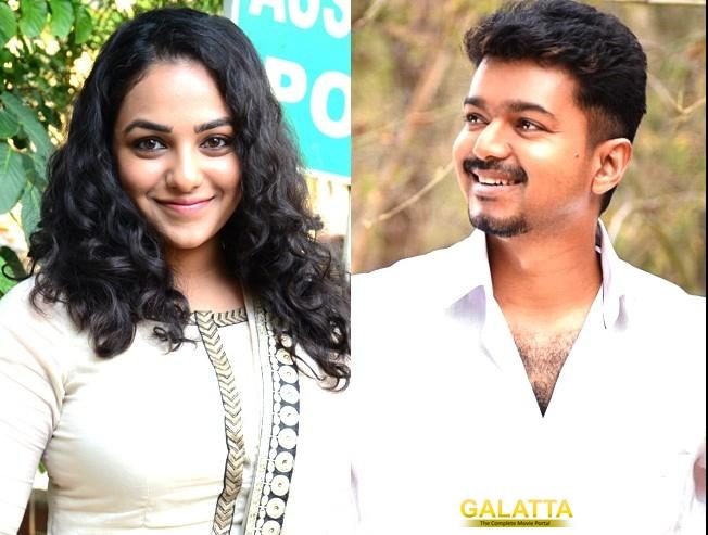 Nithya Menen joins Vijay 61