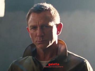No Time To Die teaser Daniel Craig James Bond 007 - Tamil Movie Cinema News