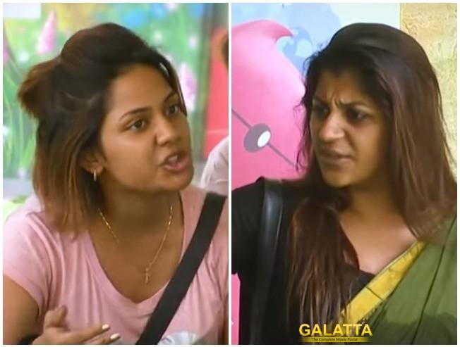 BIGG BOSS 2: Huge Fight Between Yashika And Aishwarya