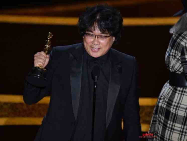 Oscars 2020 Bong Joon ho wins Best Director Award for Parasite - Tamil Movie Cinema News