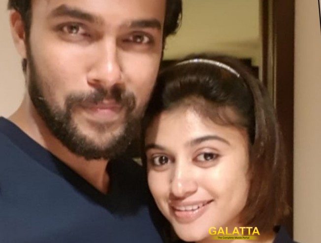 Arav Rajabheema Oviya Plays An Important Role Viral Picture