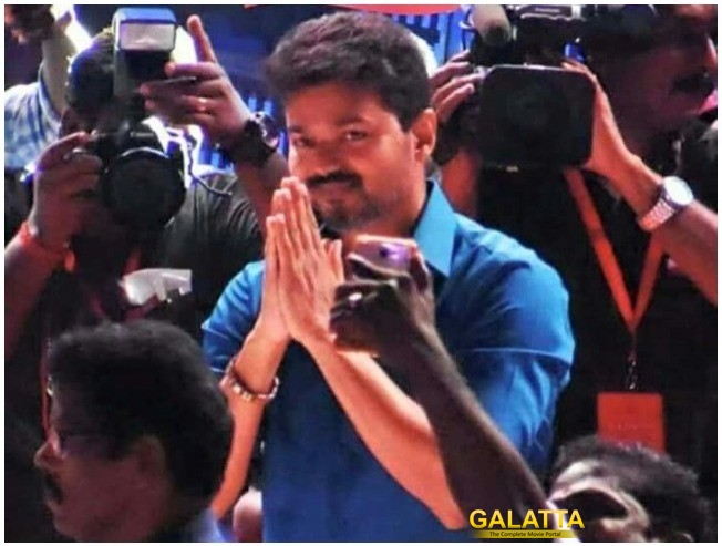 Thalapathy Vijay in Sarkar audio launch