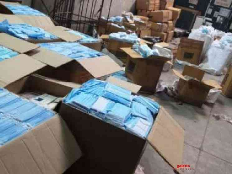 PPE kits masks sanitisers smuggled to China caught by Customs - Tamil Movie Cinema News