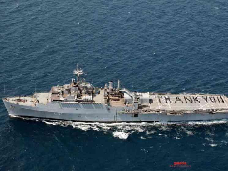 Navy ship INS Jalashwa brings back 698 Indians from Maldives - Tamil Movie Cinema News