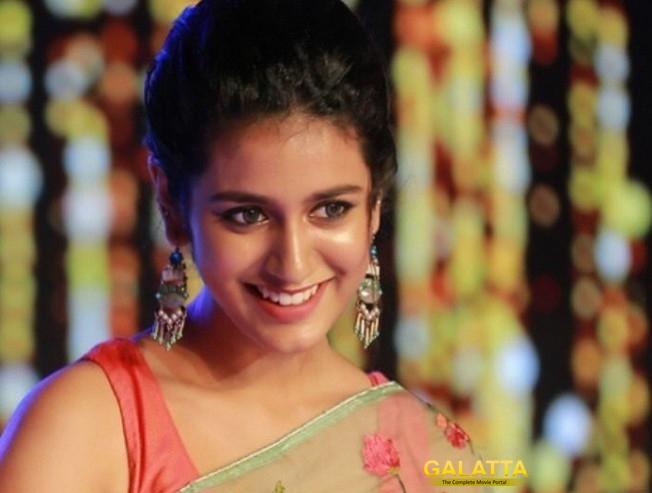 Wink Girl Priya Varriers New Hindi Films Teaser Oru Adaar Love