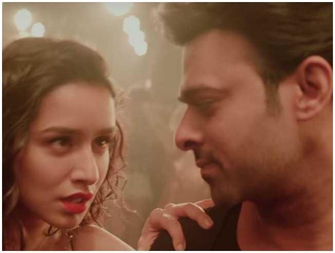 Prabhas Saaho Psycho Saiyyan song teaser Shraddha Kapoor - Tamil Movie Cinema News