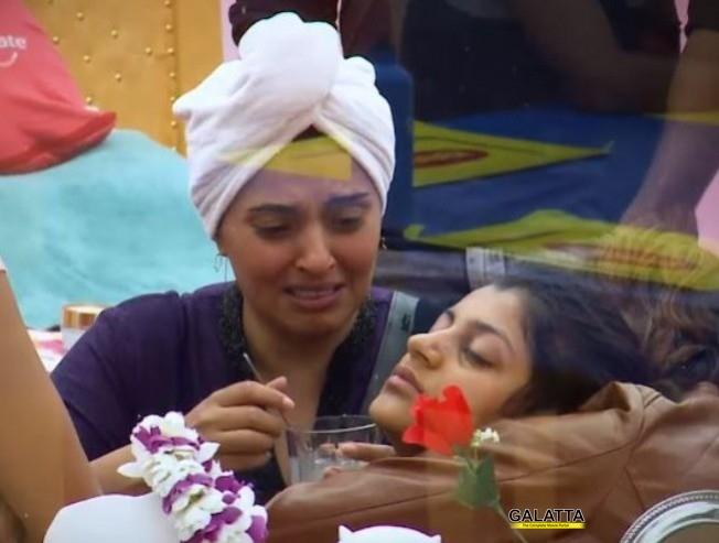 மயங்கி விழுந்த யாஷிகா: கண்கலங்கும் மும்தாஜ்