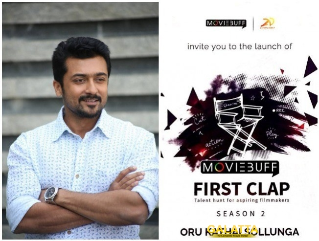 First Clap Season 2 Announced By Suriya 2D Entertainment And Moviebuff