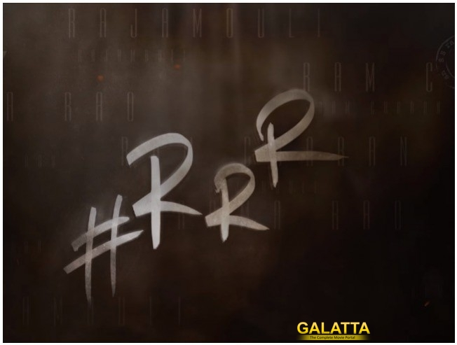 Rajamouli Announces Next Film RRR With Ram Charan And Jr NTR