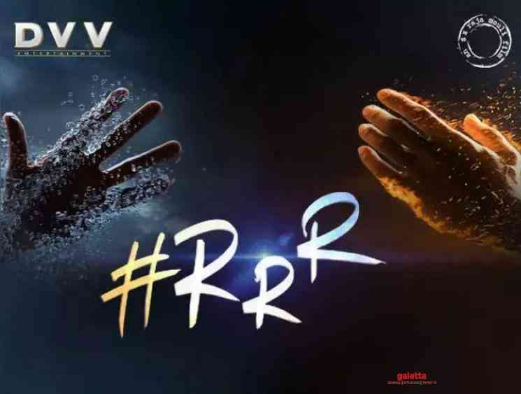 RRR motion poster SS Rajamouli Ram Charan Jr NTR Ajay Devgn - Kannada Movie Cinema News