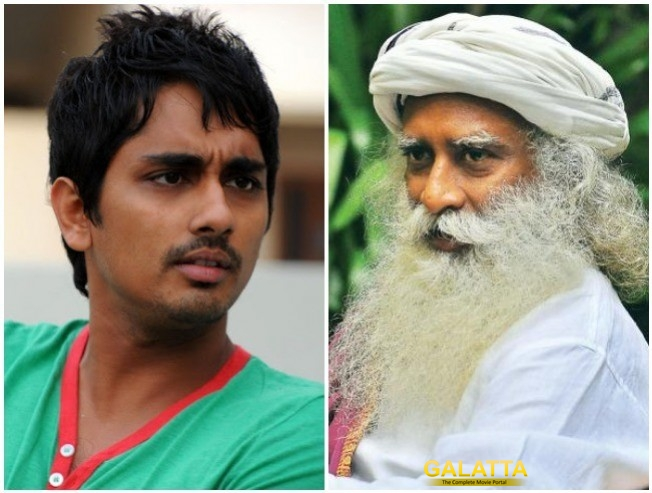 Siddharth Lashes Out At Sadhuguru Jaggi Vasudev For Supporting Sterlite