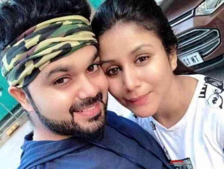 Raja Rani stars Alya Manasa and Sanjeev blessed with a baby girl - Tamil Movie Cinema News