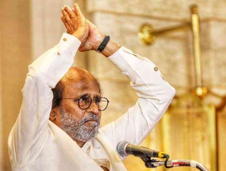 Rajinikanth thanks media and fans for latest political decision - Tamil Movie Cinema News