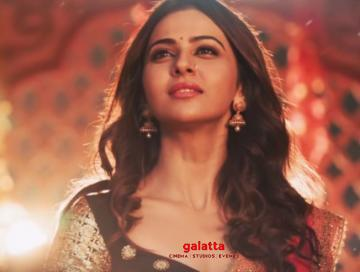 Rakul Preet Singh Raghupati Raghav song Marjaavaan Sid Malhotra - Tamil Movie Cinema News