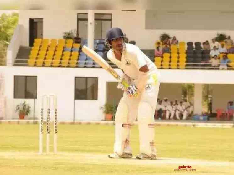 Vishnu Vishal gives batting tips to Allu Sirish - Tamil Movie Cinema News