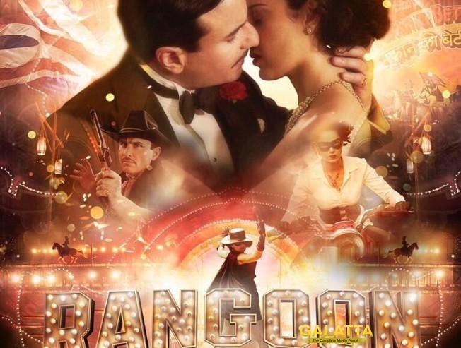 Rangoon is not a biopic : Vishal Bharadwaj