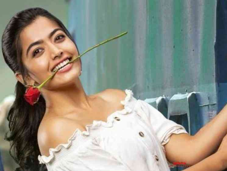 Rashmika Mandanna opens up on her crush on Thalapathy Vijay - Tamil Movie Cinema News