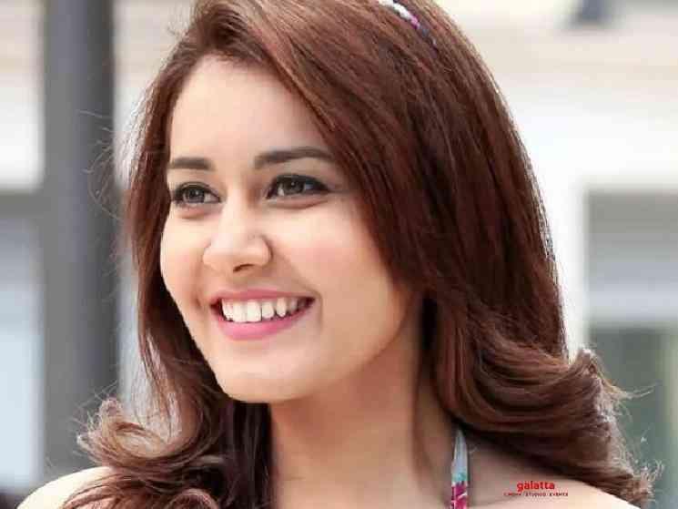 Raashi Khanna shares new video of herself singing - Telugu Movie Cinema News
