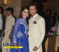 Genelia and Ritesh pick Riaan