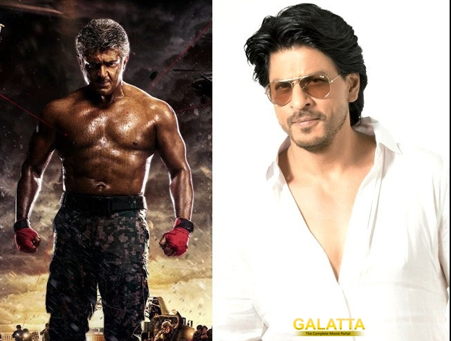 SRK is impressed with Ajith's transformation