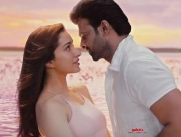 Saaho Baby Wont You Tell Me Video song Prabhas Shraddha Kapoor - Tamil Movie Cinema News