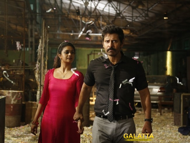 Saamy Square Vikram Keerthy Suresh Ten Percent Filming Remains