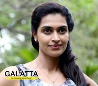 Sarabham girl Salony is super happy