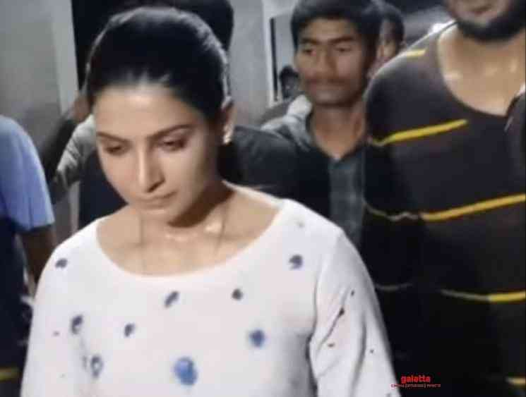 Samantha strong warning to fan at Tirupati temple in viral video - Tamil Movie Cinema News