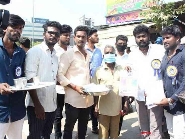 Thalapathy Vijay fans help public fight Corona Virus - Tamil Movie Cinema News