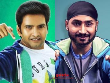 Santhanam dikkilona movie cast Harbhajan Singh Anagha Yogi Babu - Tamil Movie Cinema News