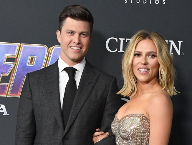 Scarlett Johansson engaged to two years boyfriend Colin Jost