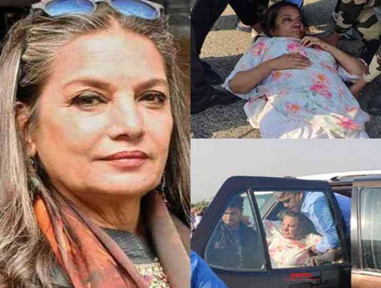 Bollywood actress Shabana Azmi injured in a road accident - Tamil Movie Cinema News