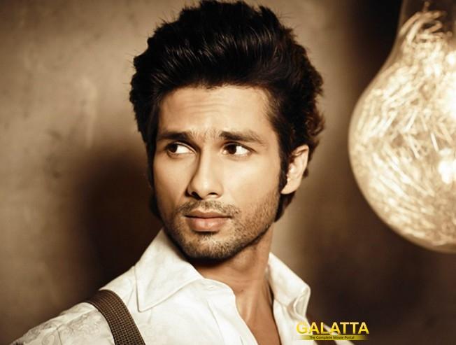 Shahid starts shooting for Padmavati