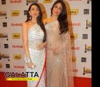 What are Sonakshi, Kareena, Karisma and Shilpa's redcarpet outfits?