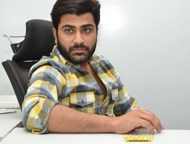 Top producer impressed with Sharwanand