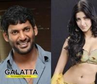 Shruti enjoys shooting at Coimbatore!