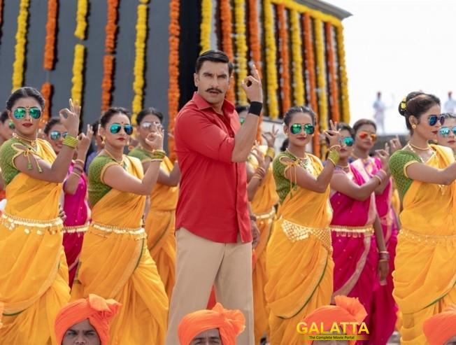 Simmba Ranveer Singh Sara Ali Khan Mera Wala Dance  Ajay Devgn post credit song
