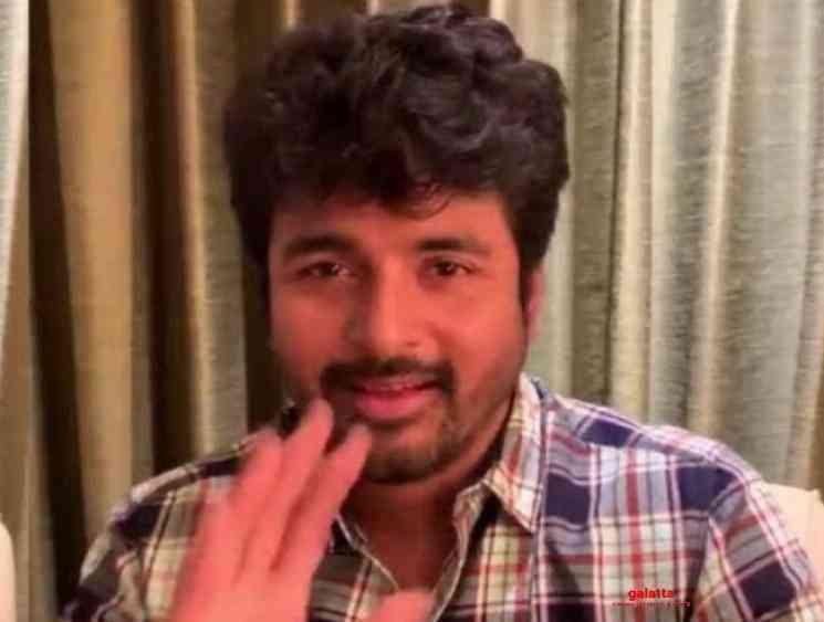 Sivakarthikeyan thanks fans response Doctor Ayalaan first looks - Tamil Movie Cinema News