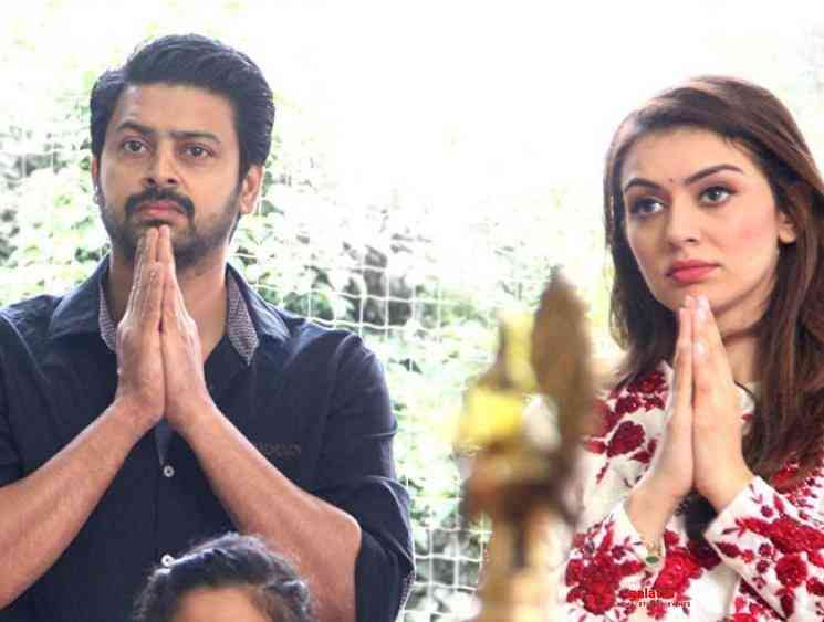 Srikanth character poster from Hansika STR Maha released - Tamil Movie Cinema News