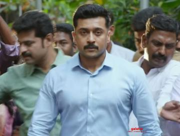 Suriya's Kaappaan Telugu trailer - massive new action-packed footage