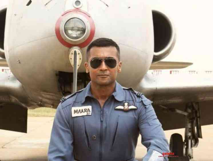 Soorarai Pottru Veyyon Silli song launch on Spicejet Boeing 737 - Tamil Movie Cinema News