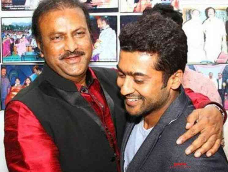 Mohan Babu is Suriya's mentor in Soorarai Pottru! - Tamil Cinema News