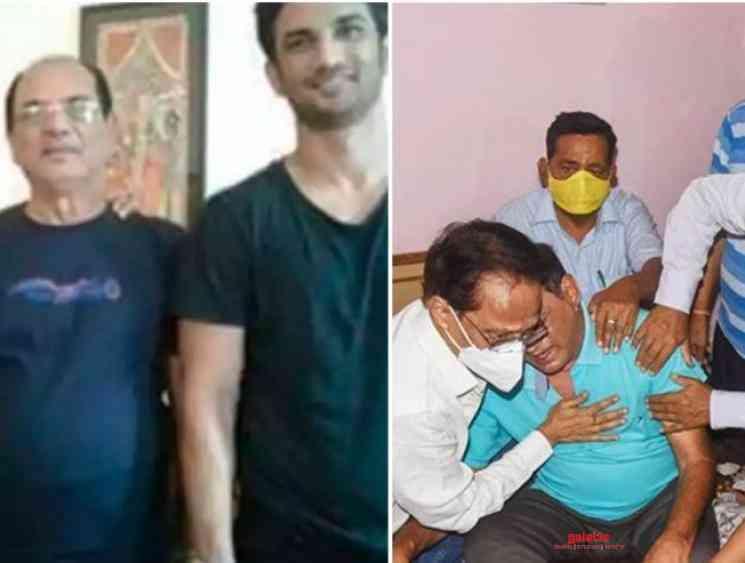 Sushant Singh Rajput told father KK Singh stay safe coronavirus - Tamil Movie Cinema News
